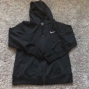 Nike therma fit light sports zip hoodie jacket